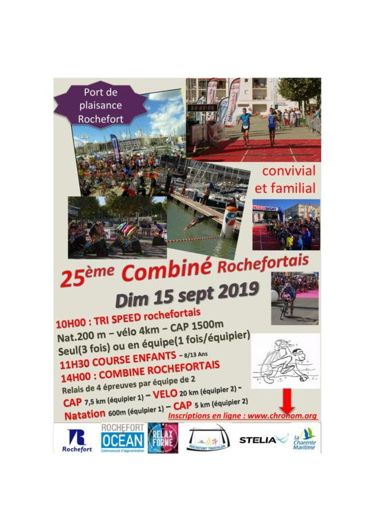 COMBINE ROCHEFORTAIS - 2019 -